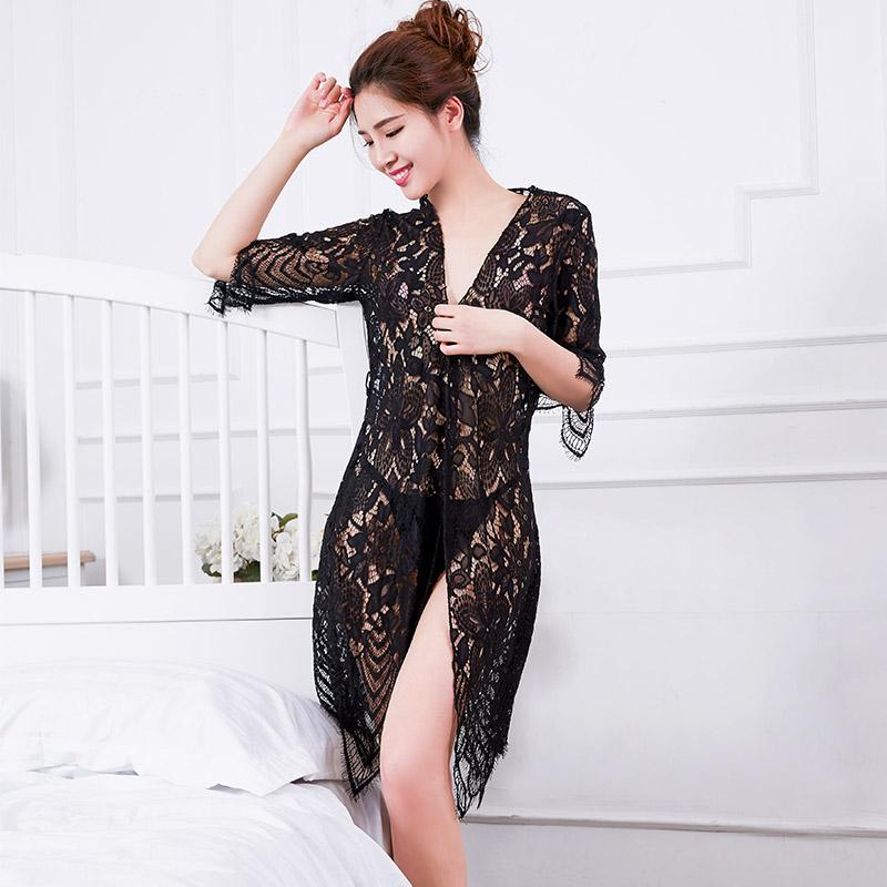 性感裙装-NIGHT FIRE 夜火-NIGHT FIRE 夜火情趣内衣魅力透视装性感三点式套装