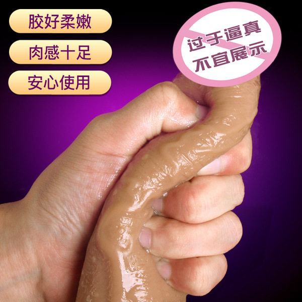 仿真阳具--实弹战将 女用硅胶 仿真阳具