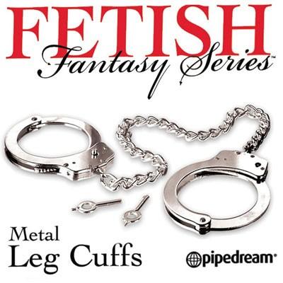 缚束铐枷--高級SM金属铐metal leg cuffs